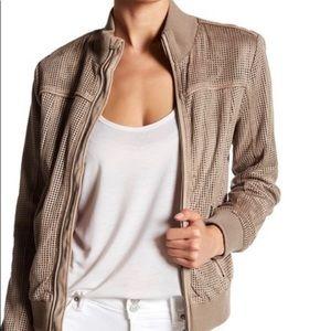 Jackets & Blazers - MOVING SALE! LIKE NEW! Vegan leather bomber jacket